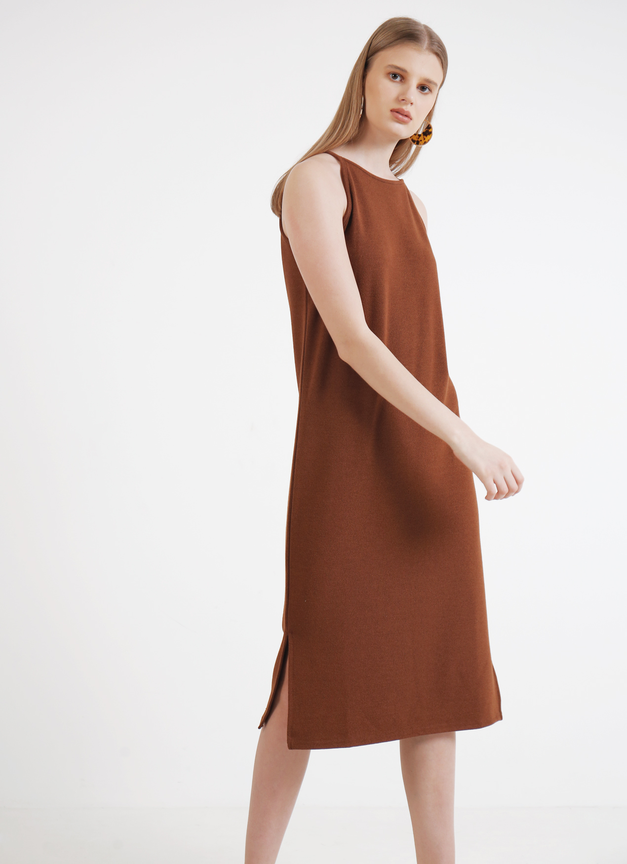 BOWN Courtney Dress - Brown