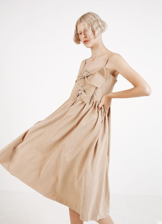 BOWN Ashley Dress - Beige