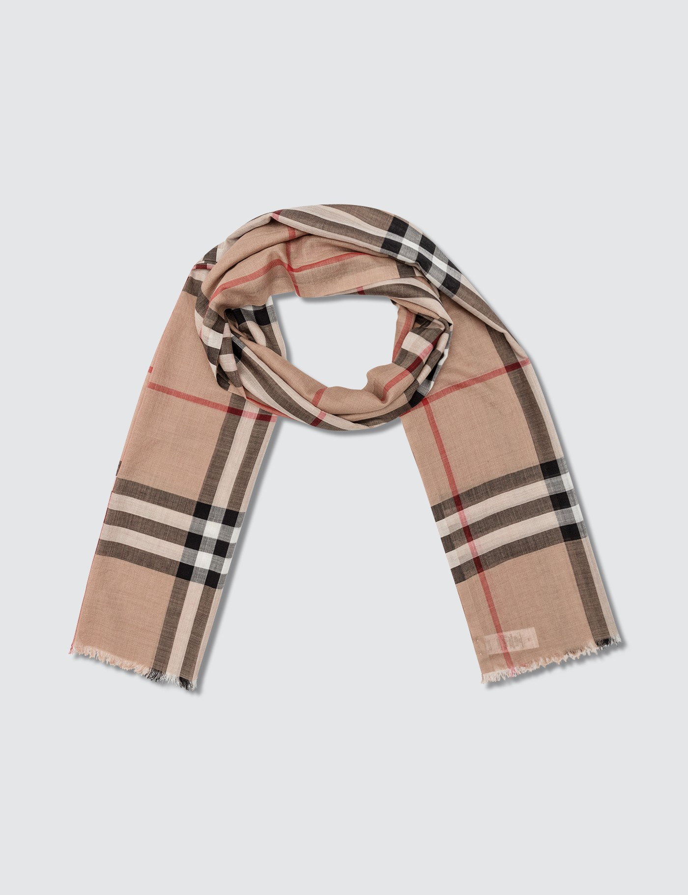 ea6dce1afff93 Buy Original Burberry The Classic Check Cashmere Scarf at Indonesia ...
