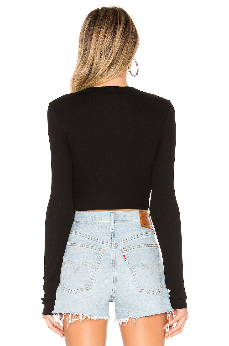 COTTON CITIZEN Verona Crop Shirt