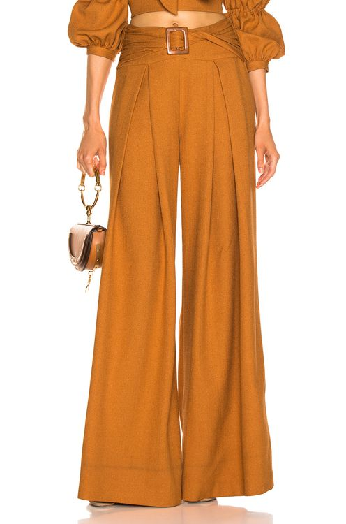 PatBo Belted Wide Leg Pant