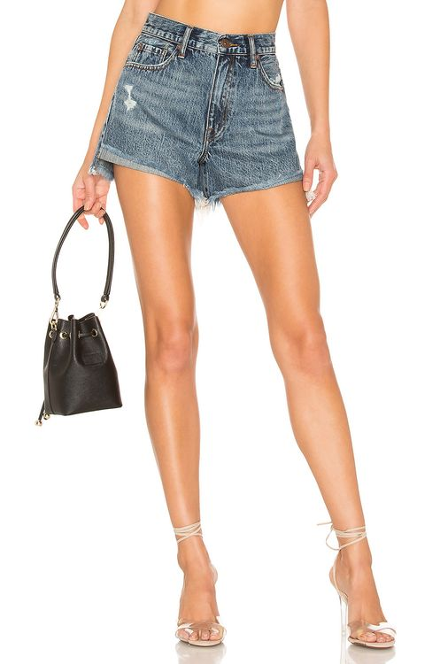 PISTOLA Kylee Relaxed High Rise Short