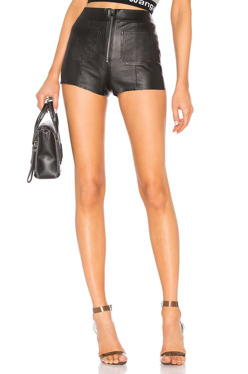 SPRWMN Leather Hot Pants