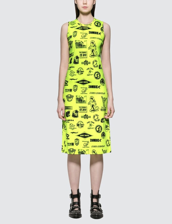 McQ Alexander McQueen Bodycon Ss Dress