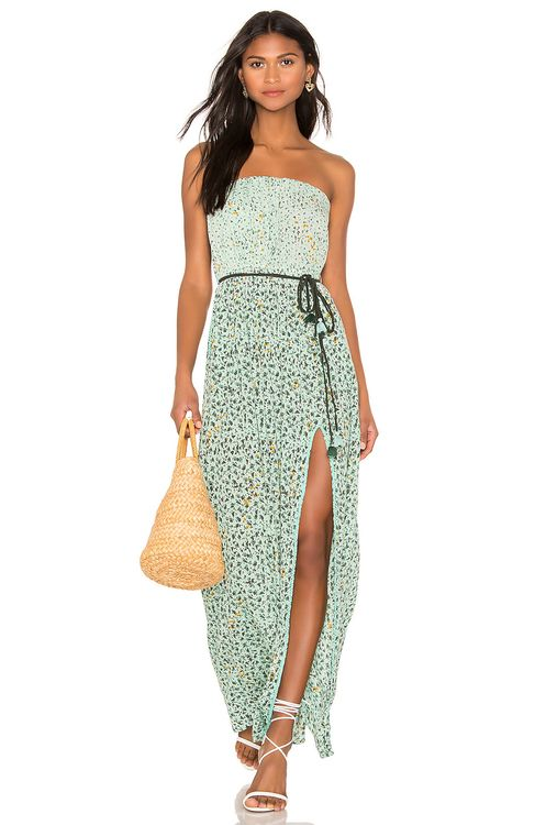 Poupette St Barth Mara Strapless Dress