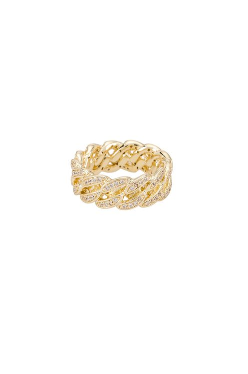 The M Jewelers NY The Iced Cuban Link II Ring