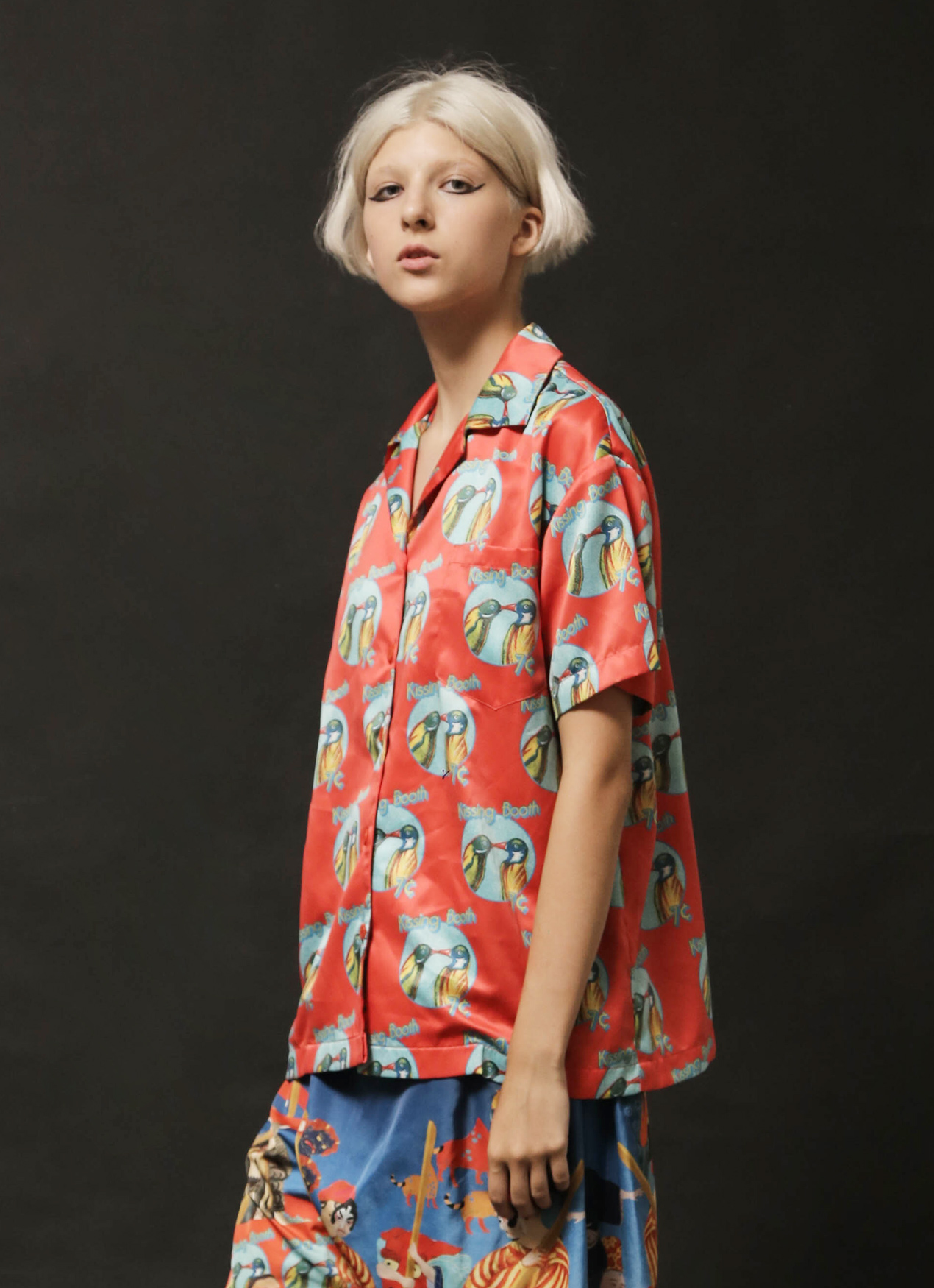 DIBBA Kissing Booth Shirt - Multicolor