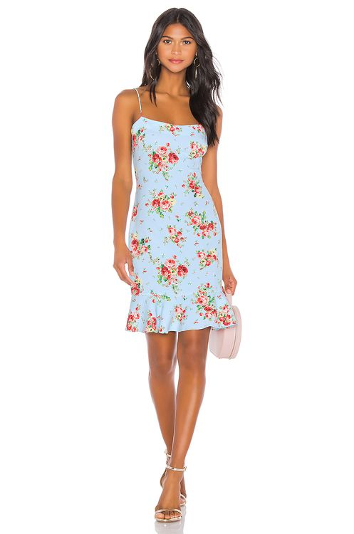 LIKELY Zadie Floral Banks Dress