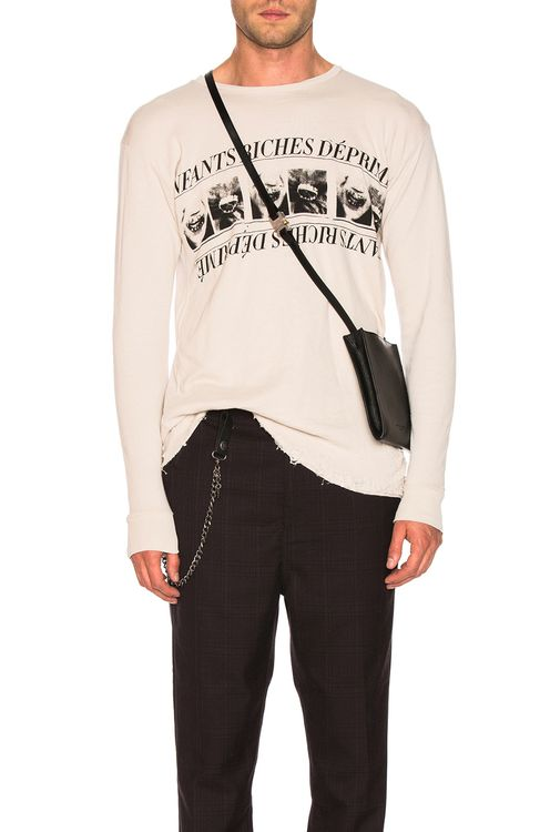 Enfants Riches Deprimes Long Sleeve Print Tee