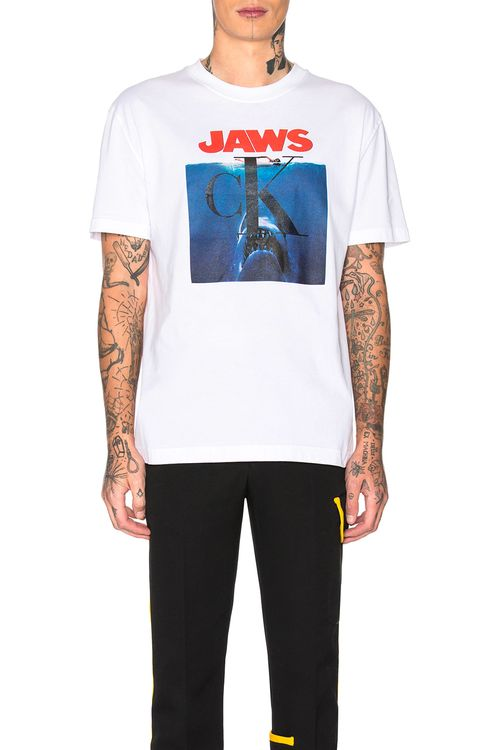 CALVIN KLEIN 205W39NYC Jaws 1975 Graphic Tee