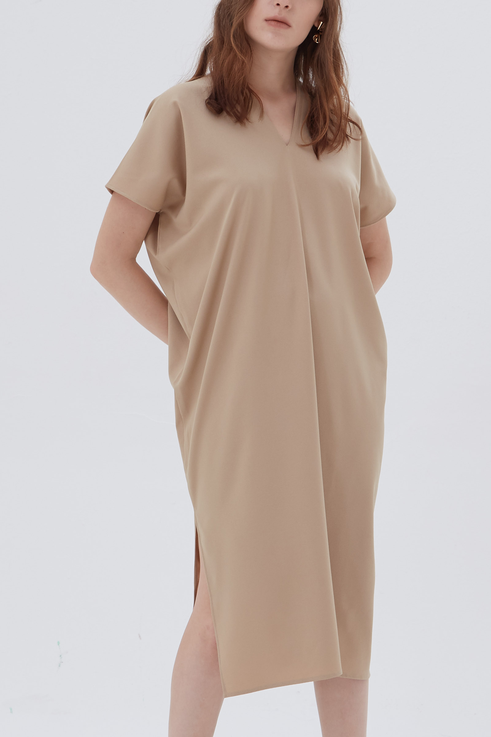 Shopatvelvet Elevation Dress Nude