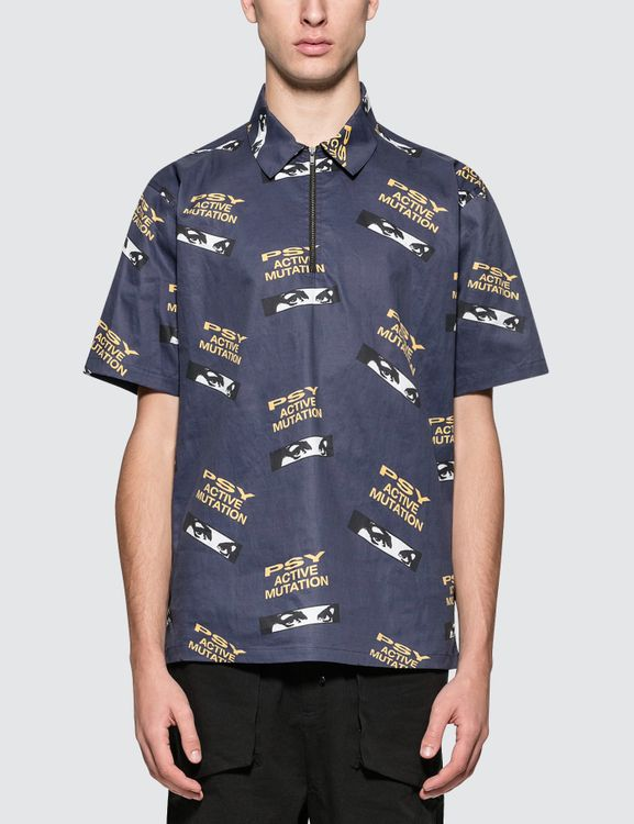 P.A.M. Psy High Zip Shirt