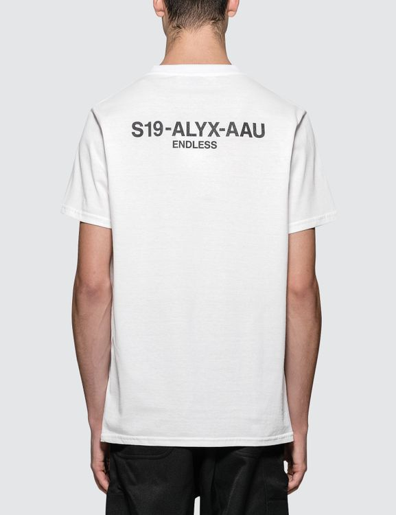 1017 ALYX 9SM Collection Code S/S T-Shirt