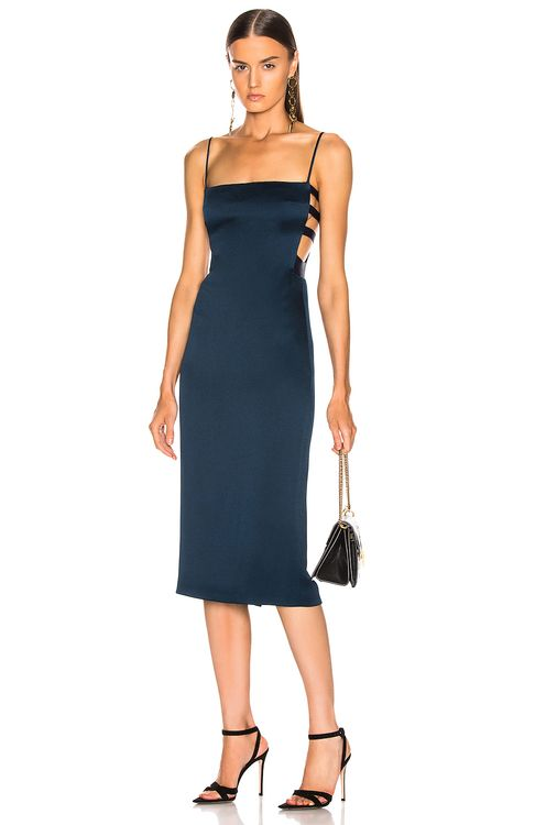 Cushnie Elastic Side Band Pencil Dress