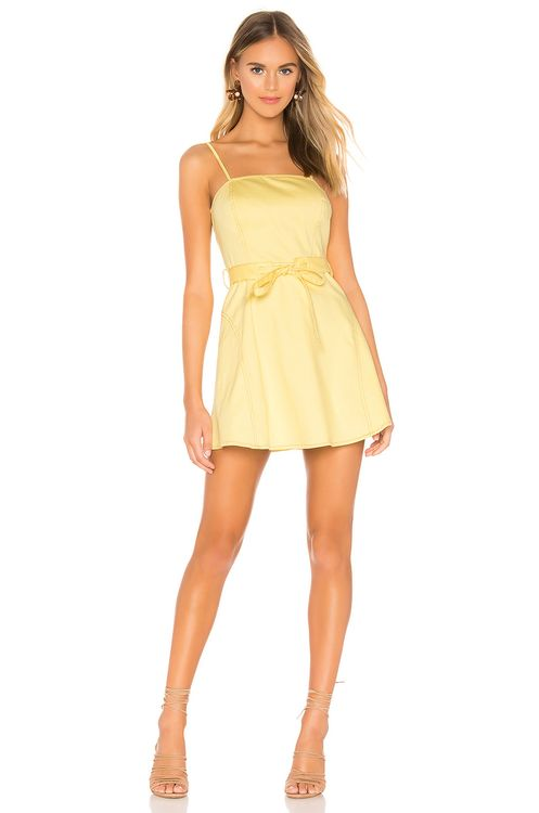 The East Order Goldie Mini Dress