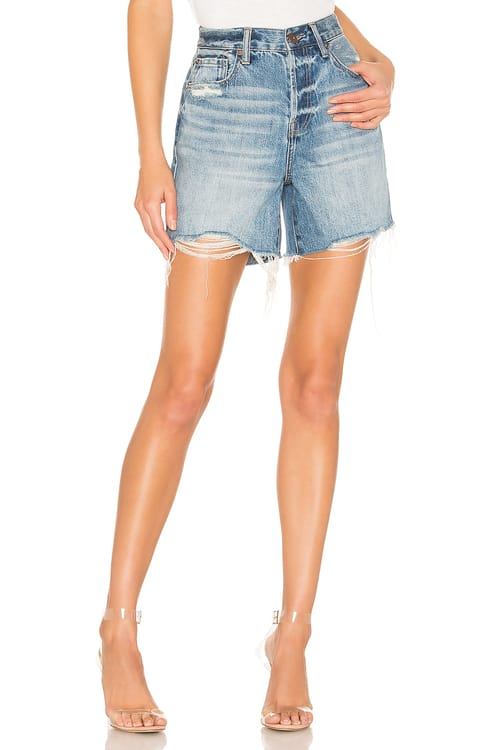 PISTOLA Devin High Rise Cut Off Short