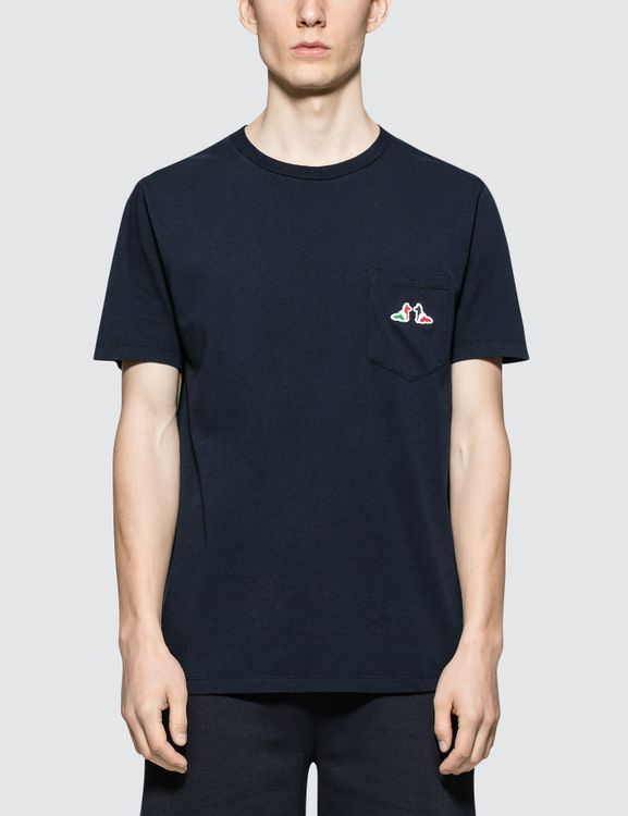 MAISON KITSUNE Resting Fox Patch S/S T-Shirt