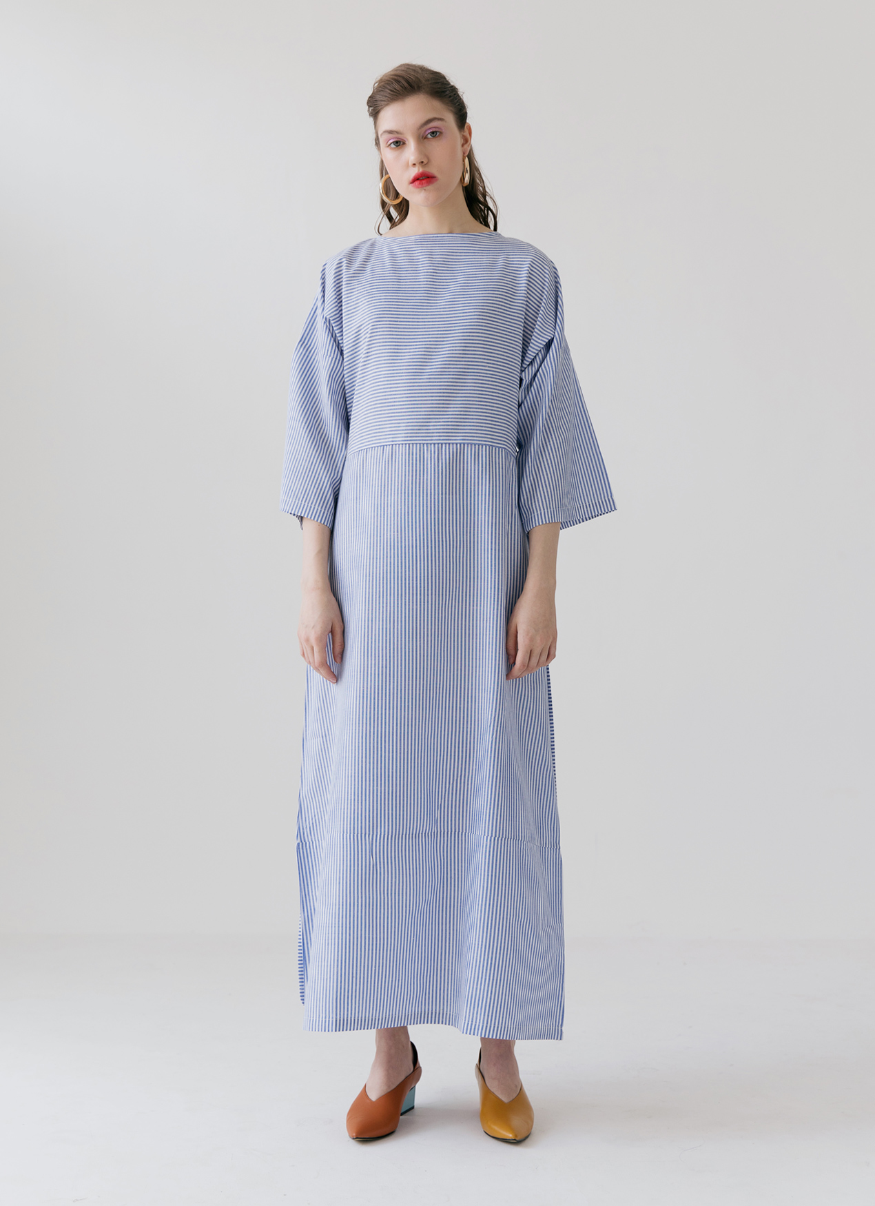diversified latest designs cheapest sale lower price with Ganni Dress - Blue, ATS THE LABEL