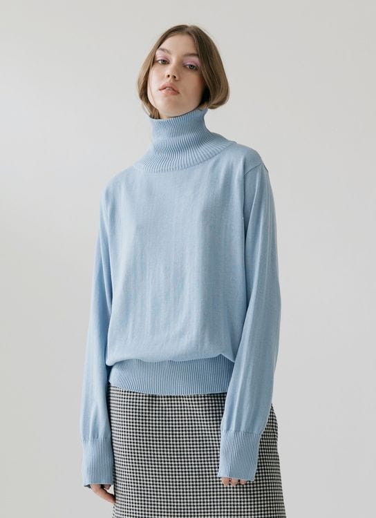 ATS THE LABEL Unica Sweater - Blue