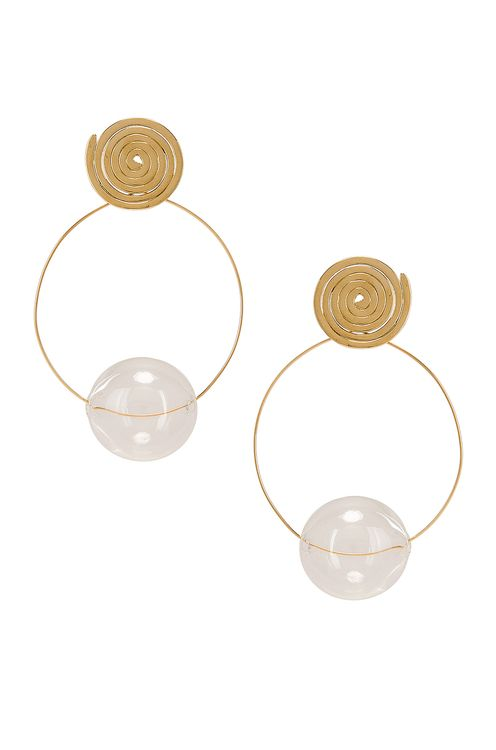 Modern Weaving Coil Orbital Hoops