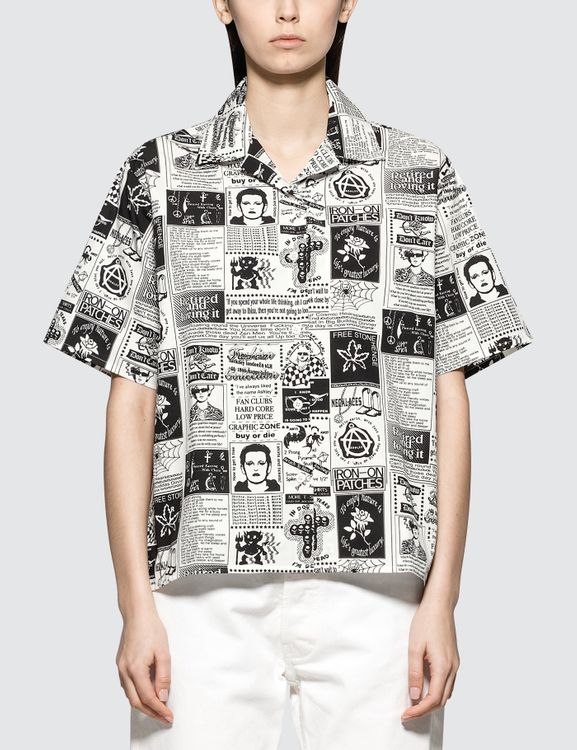 Ashley Williams Tropic Magazine Shirt