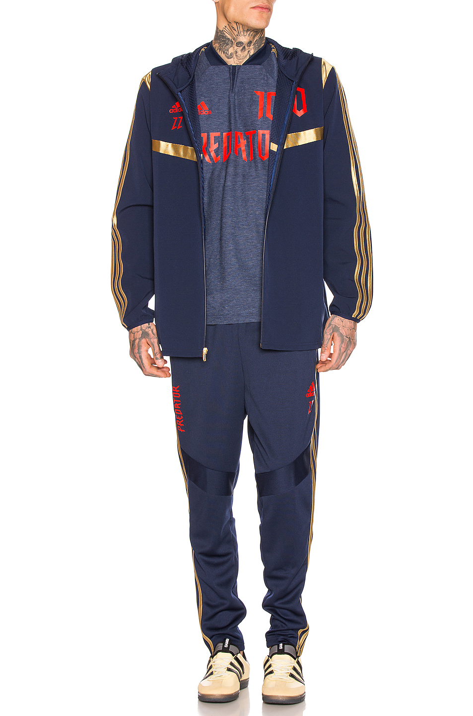 Predator Zidane Hooded Jacket, adidas Football