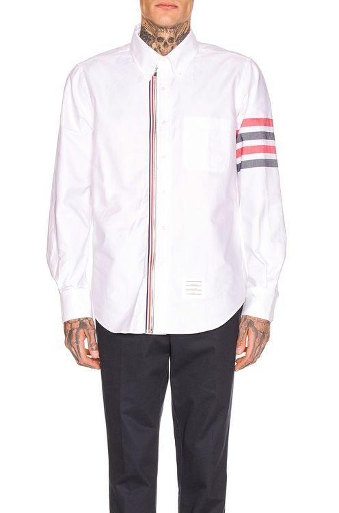 Thom Browne Zip Front Shirt