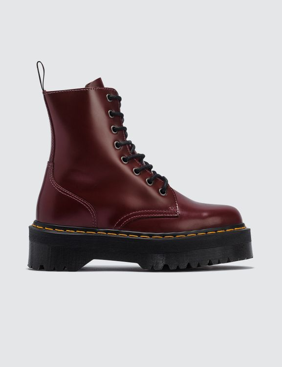 Dr. Martens 1h81 Cherry Red Polished Smooth Boots