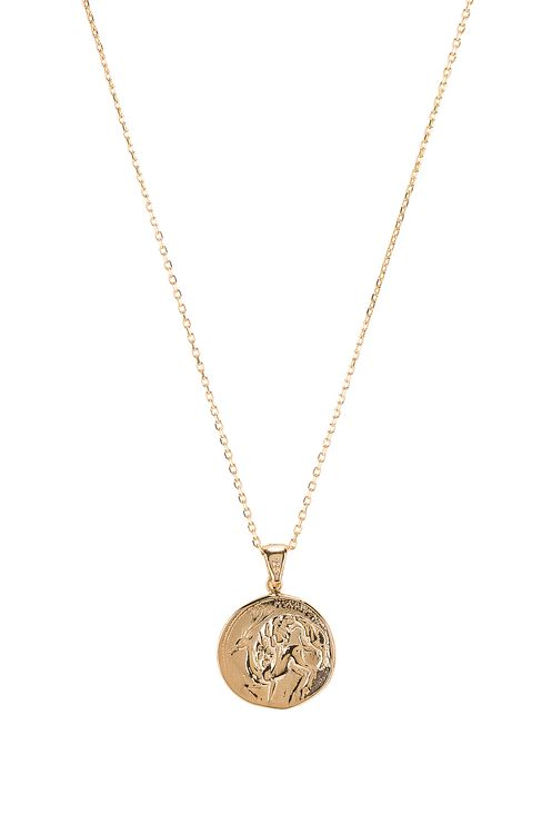 Natalie B Jewelry The Protector Reversible Coin Pendant Necklace