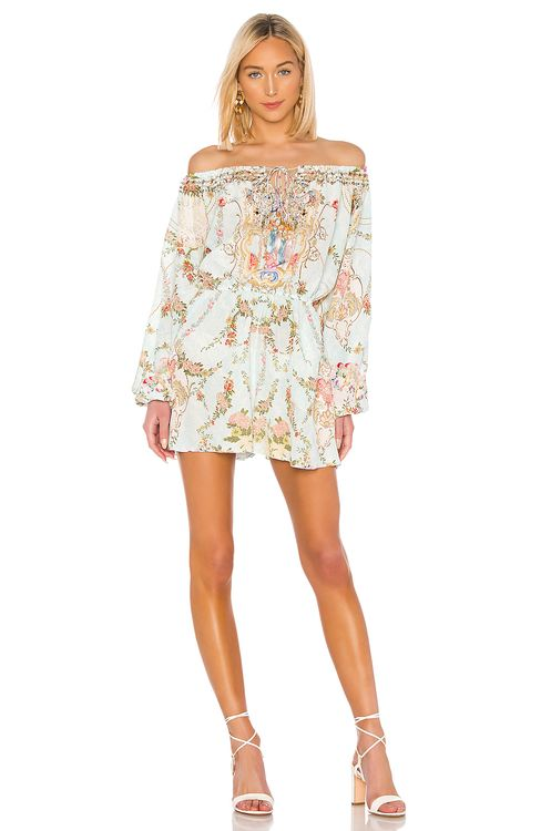 Camilla Blouson Sleeve Playsuit