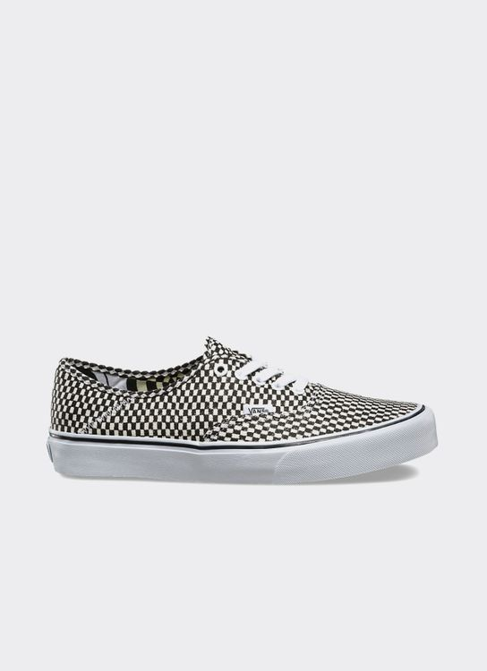 Vans Checkered Black & White Authentic SF Wade Goodall Low Top Sneakers