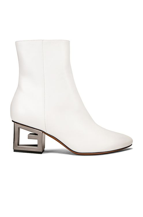 Givenchy Triangle Heel Ankle Boot