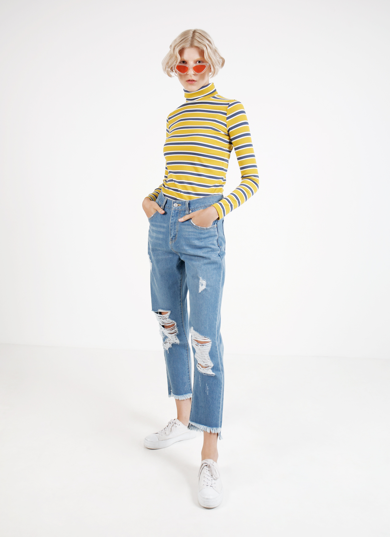 BOWN Helena Top - Yellow