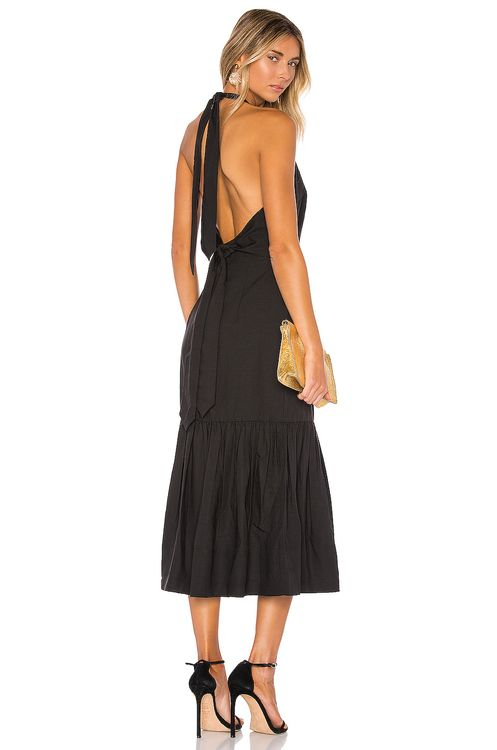 Rebecca Vallance Holiday Halter Dress