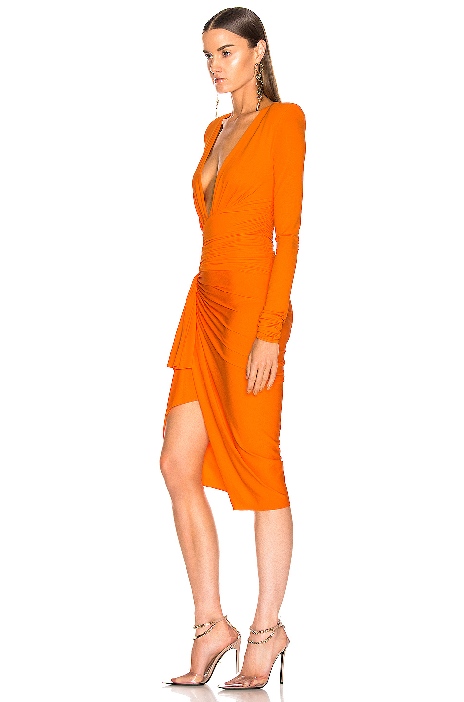 413490db Buy Original Alexandre Vauthier Jersey Ruched Mini Dress at ...