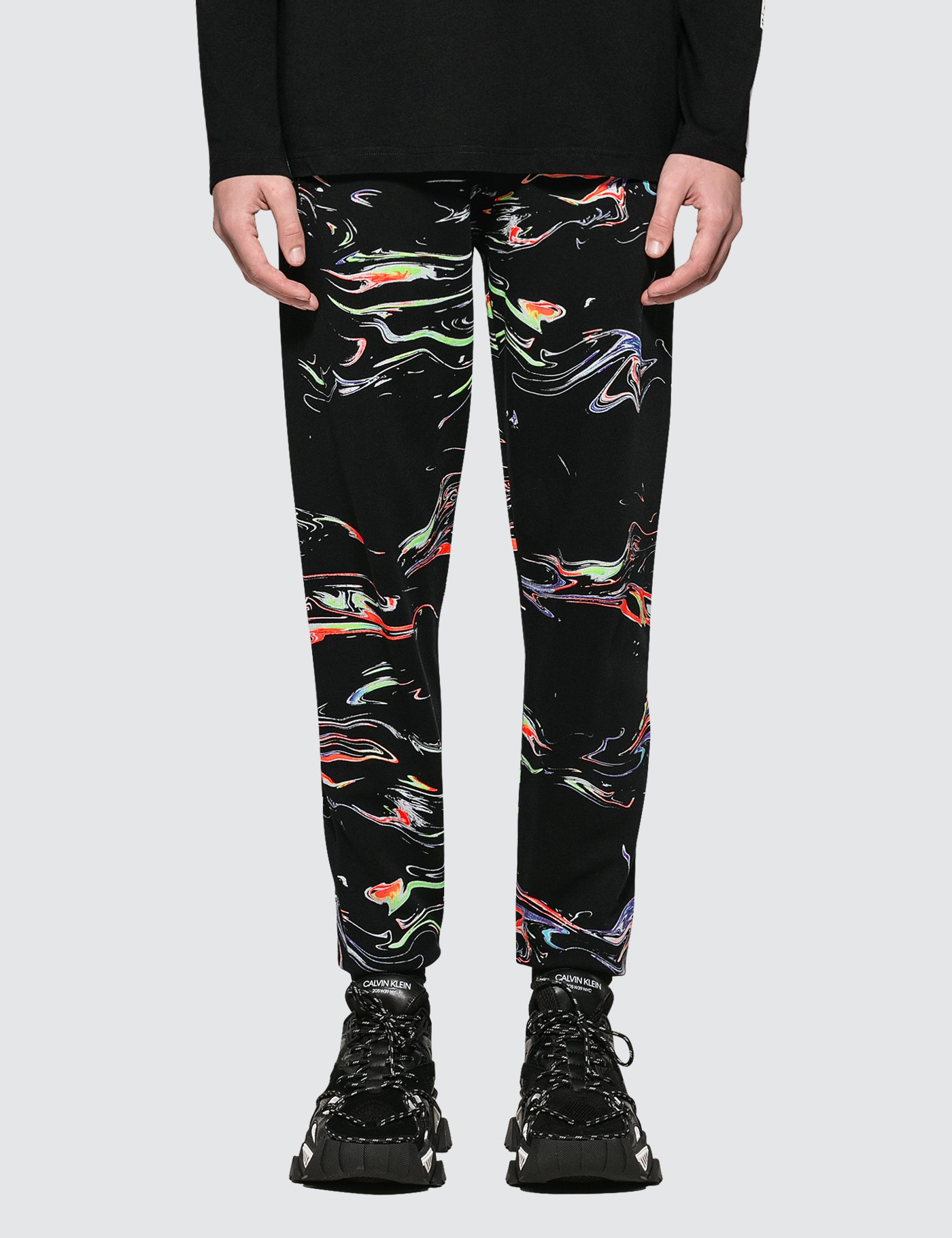 1257d569022de Buy Original MARCELO BURLON All Over Lights Sweatpants at Indonesia ...