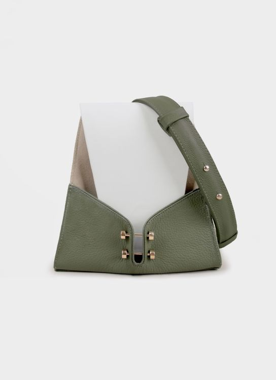 WATT - Walk the Talk Novel Handbag - Moss