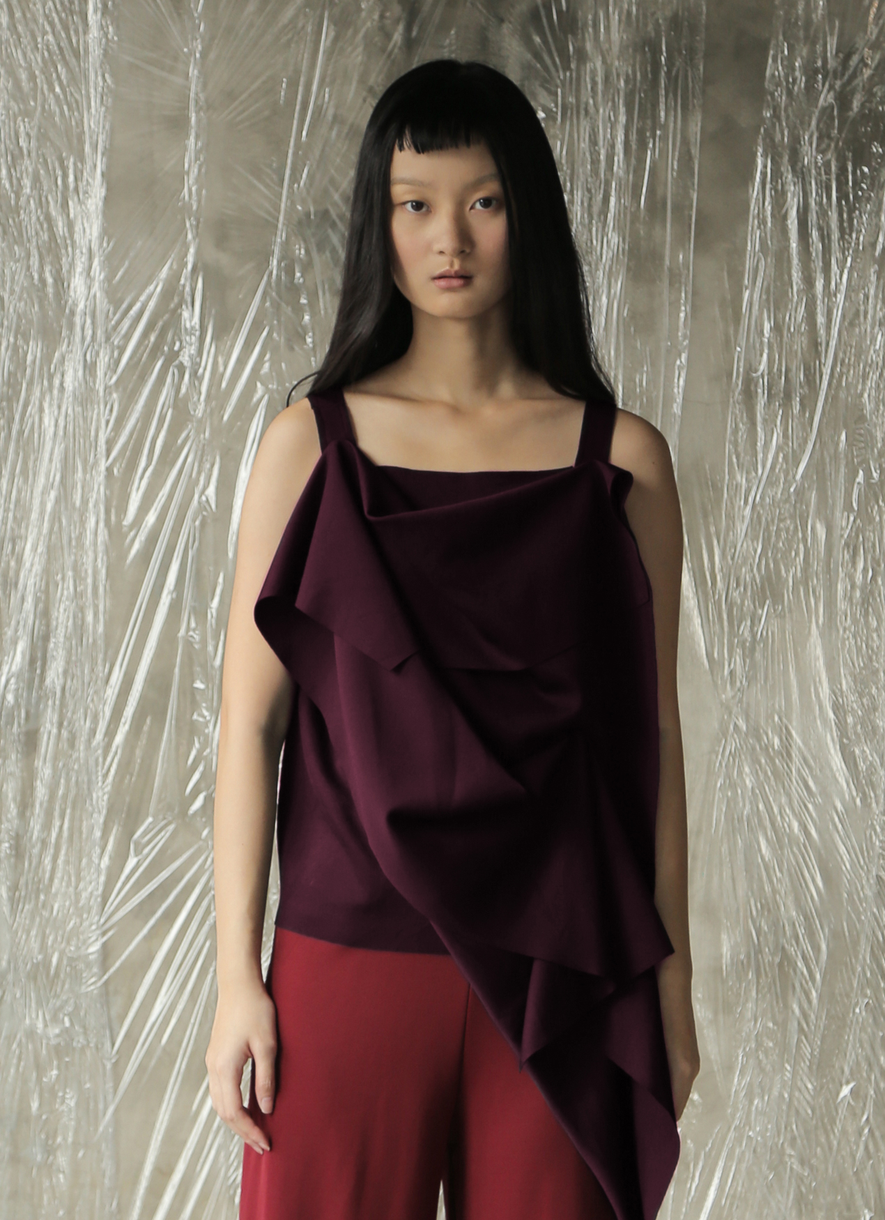 AVGAL COLLECTION Kenji Top - Wine