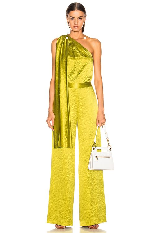 Brandon Maxwell One Shoulder Top
