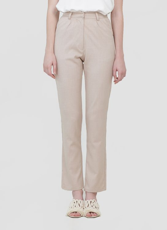 CLOTH INC Cremia Slim Pants - Cream