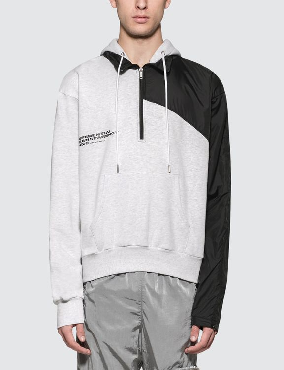 Heliot Emil Hoodie with Tech Jacket Overlayer