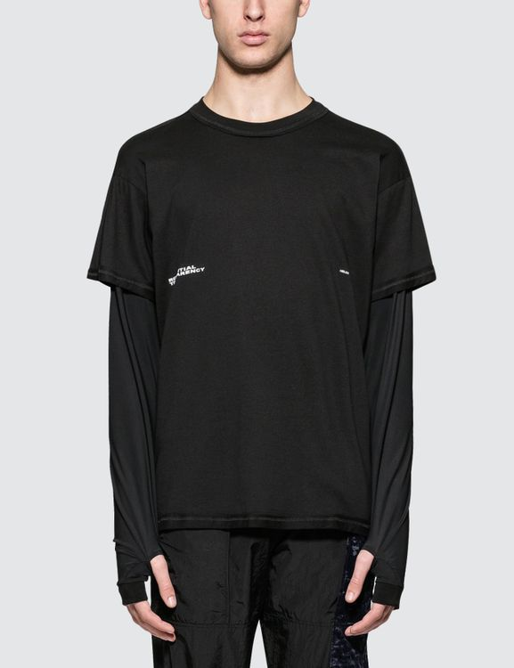 Heliot Emil Double Layered L/S T-Shirt