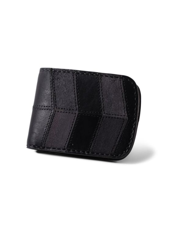 VOYEJ Voyej Vessel II Vestigial Shades Of Black Short Wallet