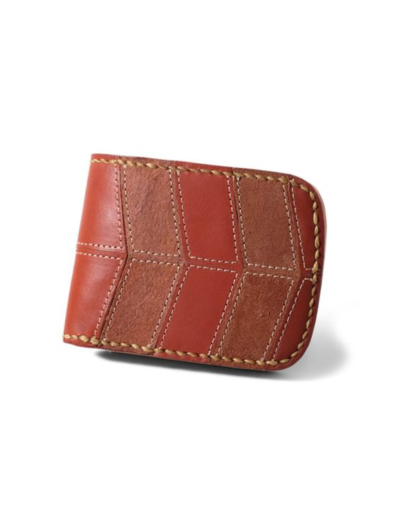 VOYEJ Voyej Vessel II Vestigial Shades Of Brown Short Wallet