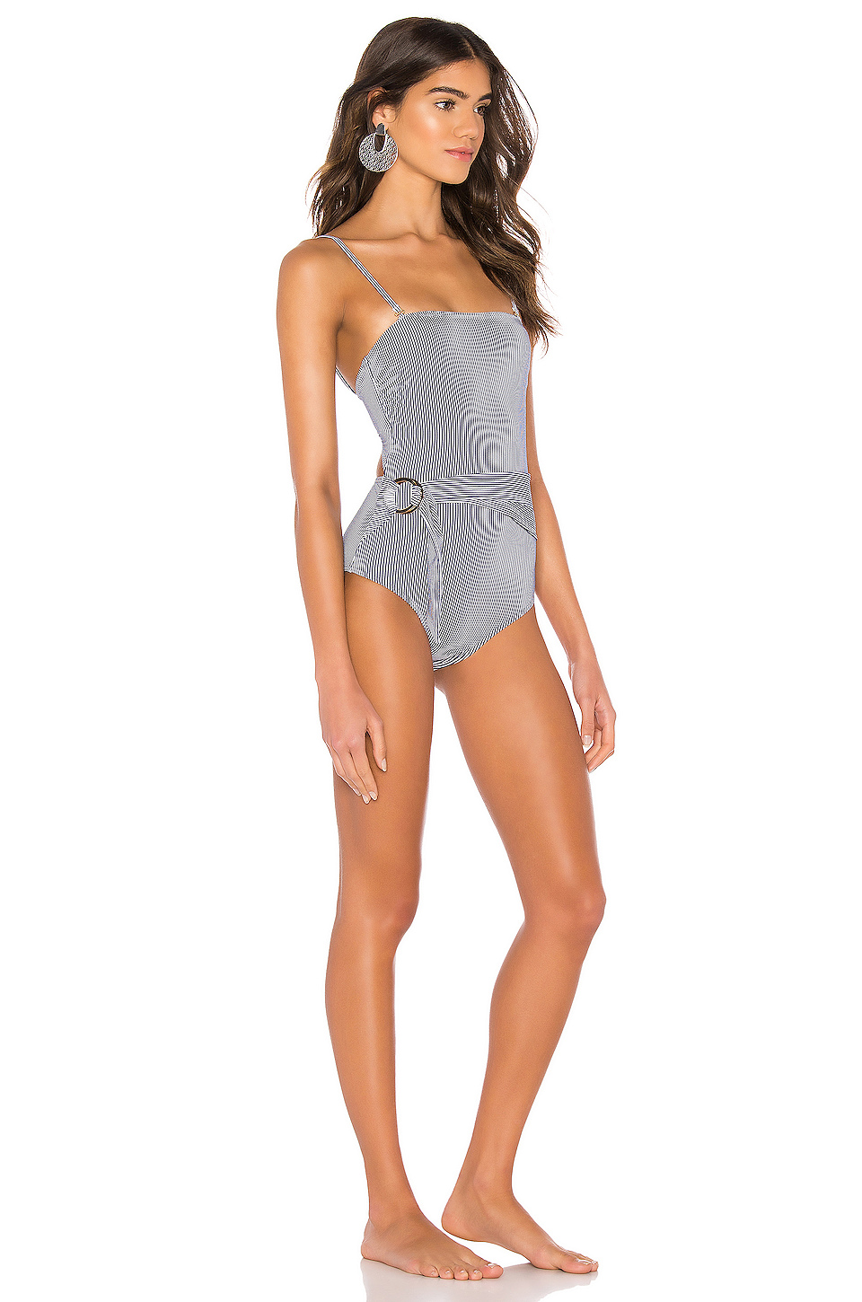 Suboo Shoreline Belted Strapless One Piece