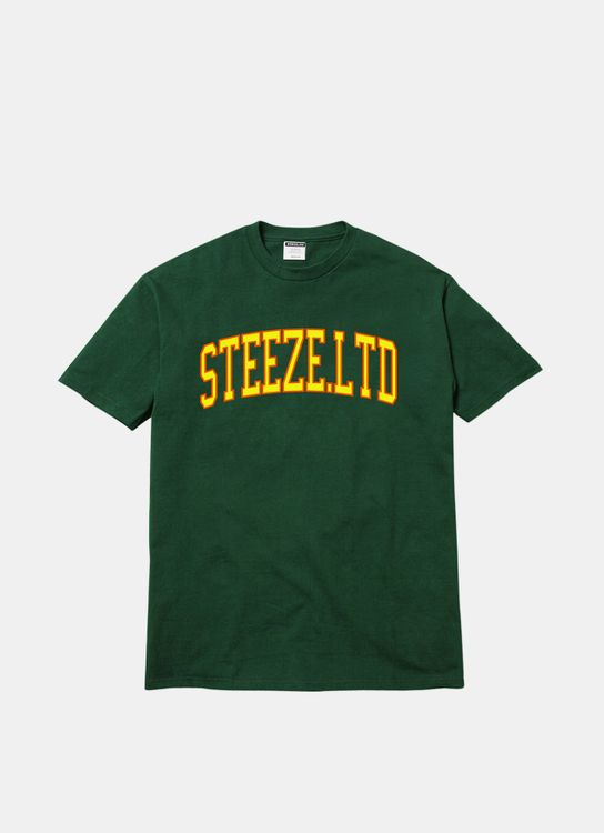 Steeze.Ltd League Tee - Forest Green