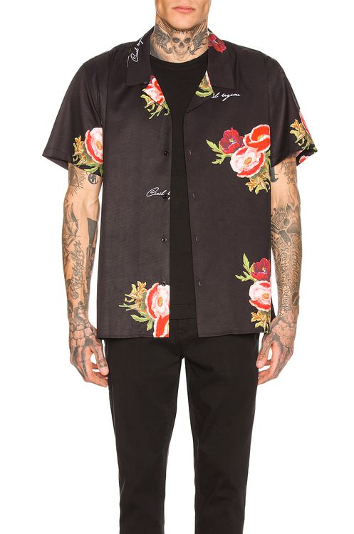 Civil Regime Full Bloom Camp Collar Shirt