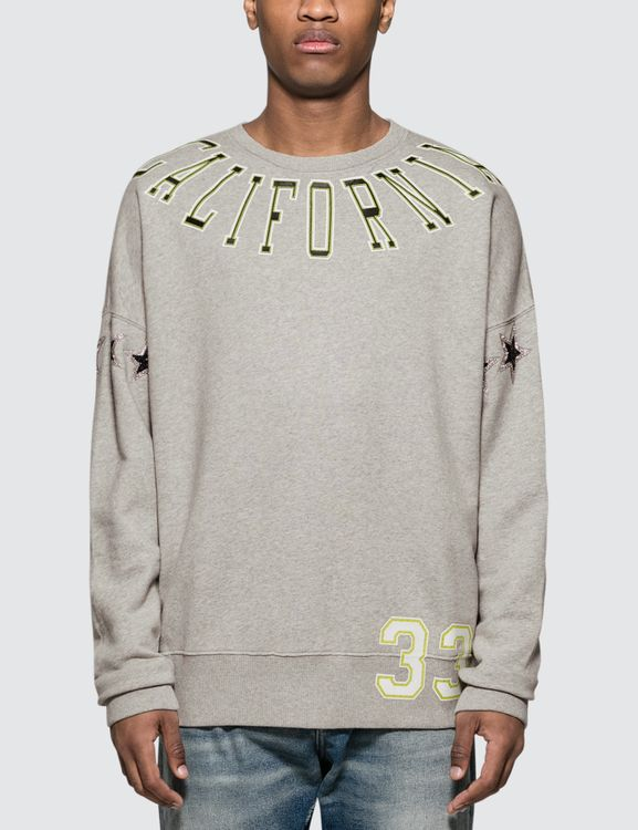 Faith Connexion CA Stars Sweatshirt