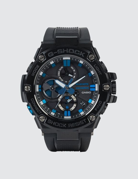 G-Shock GST-B100BNR-1ADR Blue Note Records Collaboration