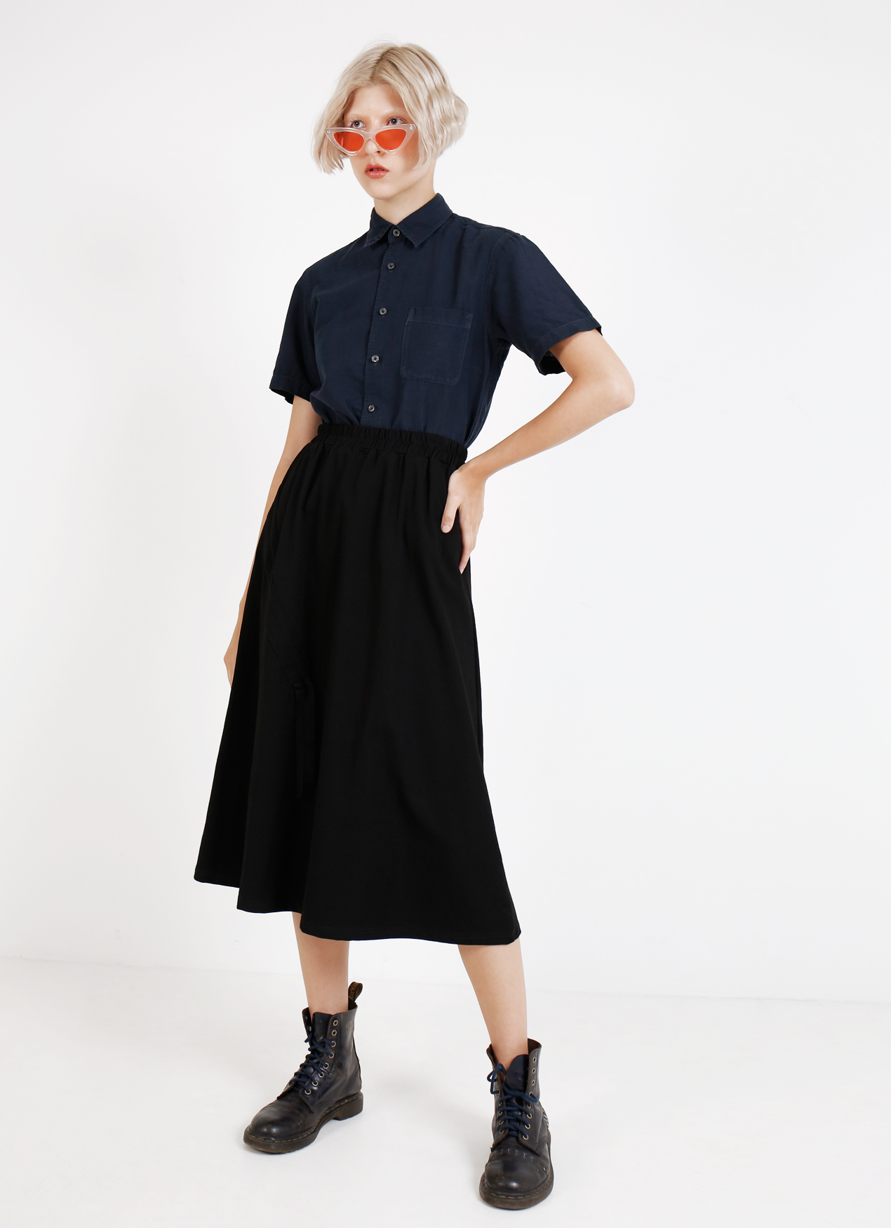BOWN Claire Skirt - Black